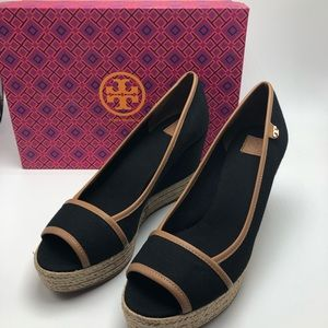 Tory Burch Majorca Wedge Sandals 10.5